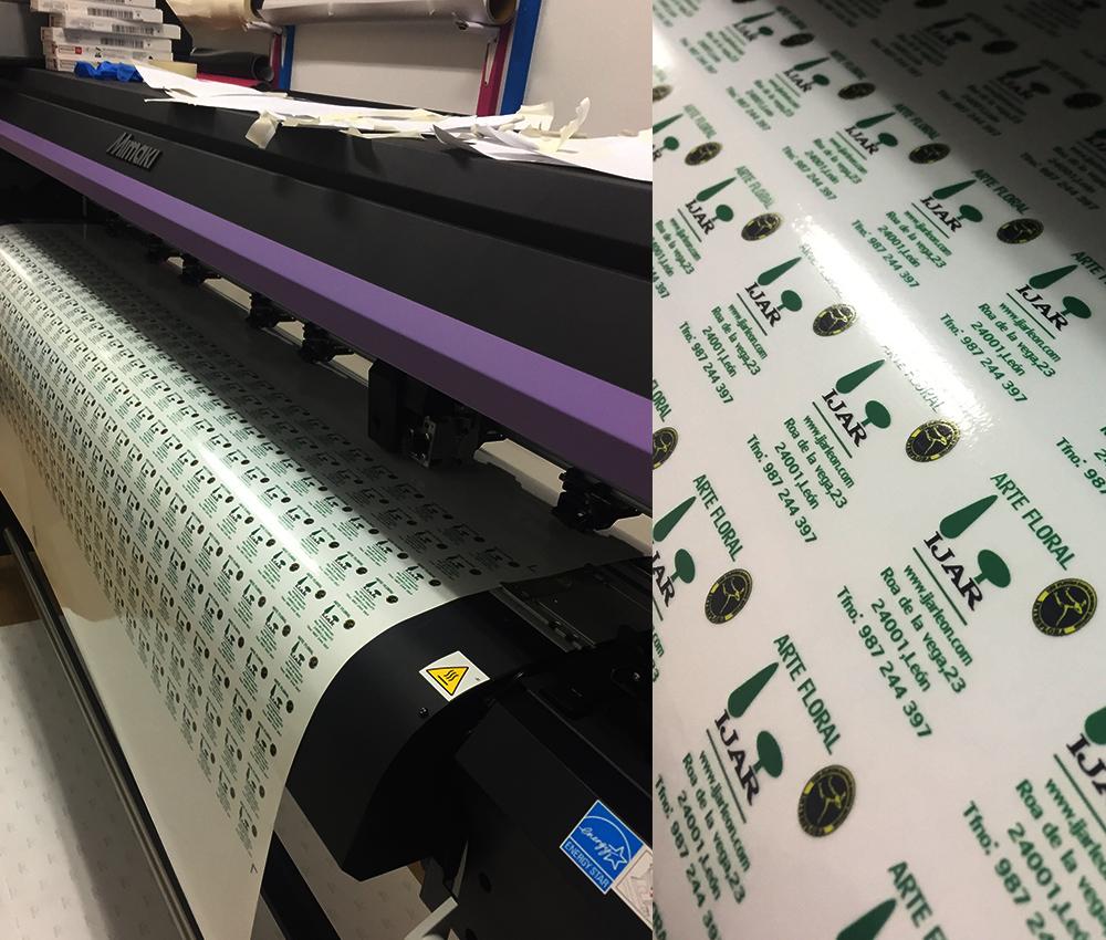 Impresión de etiquetas y tarjetas